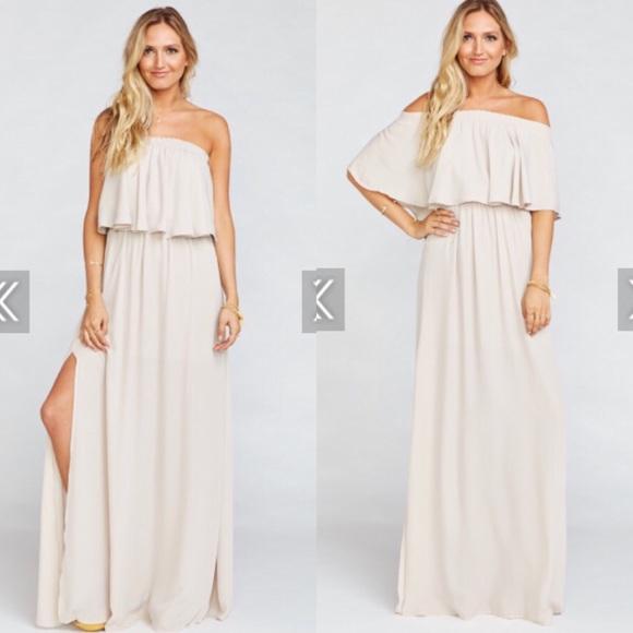 Show Me Your MuMu Dresses | Showmeyourmumu Bridesmaids Dress | Poshmark